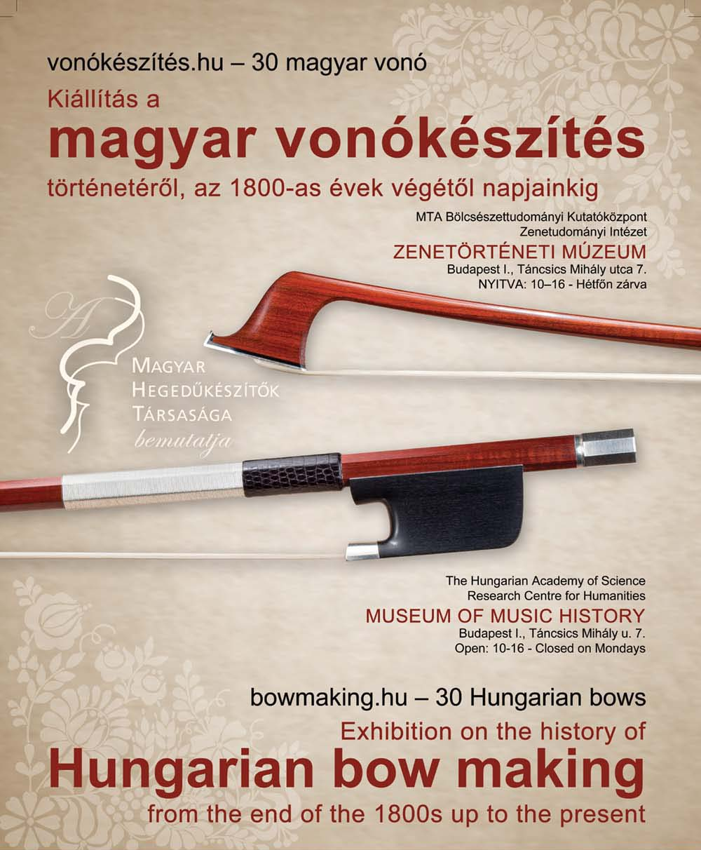 Hungarian bow making flyer
